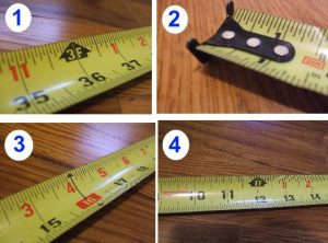 Images from How To Read a Tape Measure article